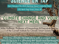 """Science on Tap: """"Climate change and your next meal"""""""