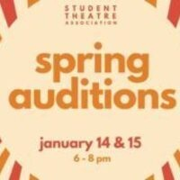 Student Theatre Association Spring Auditions