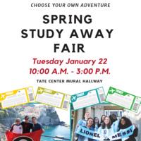 Spring 2019 Study Away Fair