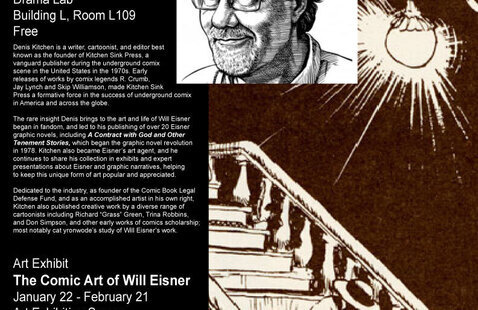 Denis Kitchen Lecture on the Art of Will Eisner