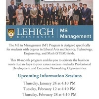 Master's in Management (M2) Information Session | Business