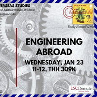 Engineering Abroad - Study Abroad Week