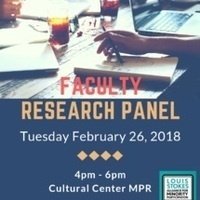 Faculty Reserach Panel