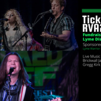 Ticked Off RVA2 - Fundraiser for Lyme Disease (featuring Brickwall Jackson and and Gregg Kirk)