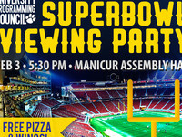 UPC Superbowl Viewing Party