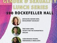 FGSS Gender & Sexuality Lunch Series: Dehanza Rogers