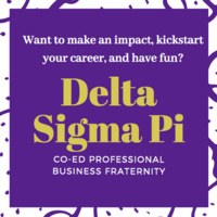 Delta Sigma Pi Recruitment: Give Back