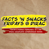 Facts 'N Snacks Fridays at Dirac: Staying Ahead of the Scholarly Curve