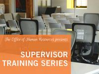 Supervisor Training - Writing Effective Position Descriptions