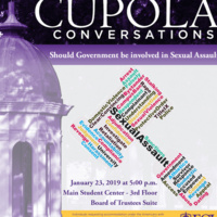 Cupola Conversations - Should Government Be Involved in Sexual Assault?