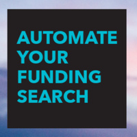 Image with text: Automate Your Funding Search