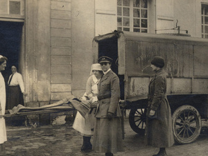 At Home and Over There: American Women Physicians In World War I Exhibit
