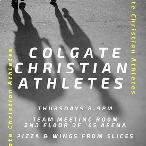 Colgate Christian Athletes-Weekly Team Huddle