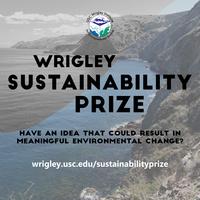 USC Wrigley Sustainability Prize Showcase