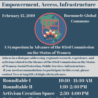 A Symposium in Advance of the 63rd Commission on the Status of Women | Center for Gender Equity