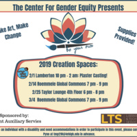 Be Your Own Creation Space! | Center for Gender Equity