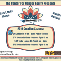 Athletes! Be Your Own Creation Space at Taylor Gym | Center for Gender Equity