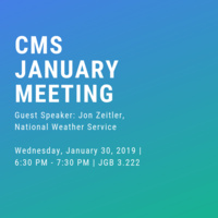 Climate and Meteorology Society Meeting