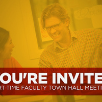 Part-time Faculty Town Hall Meetings