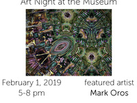 First Friday Art Night at the Museum of the Earth – Mark Oros