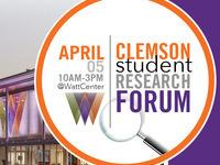 Clemson Student Research Forum 2019
