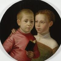 Sunday Object Talk: Double Portrait of a Boy and Girl of the Attavanti Family