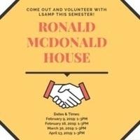 Service at Ronald McDonald House