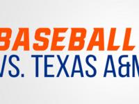 Bearkat Baseball vs. Texas A&M