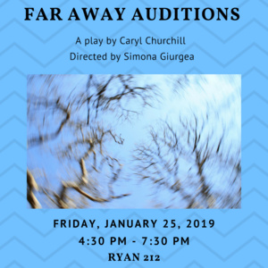 """Far Away"" Auditions - Spring University Theater Production"