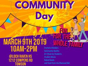 Loch Raven H.S. Community Day