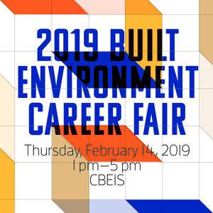 2019 Built Environment Career Fair