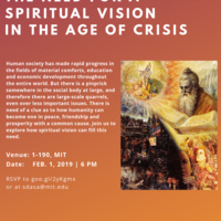 # TALK Need For A Spiritual Vision In The Age Of Ccrisis
