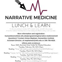 Narrative Medicine Lunch & Learn