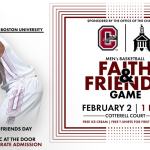 Colgate University Men's Basketball vs Boston University