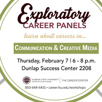 Careers in Communication & Creative Media