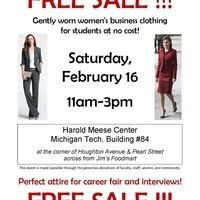 Career Fair Women's Free Sale