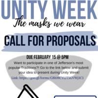 Unity Week Proposals
