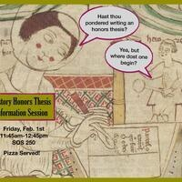 History Honors Thesis Information Session