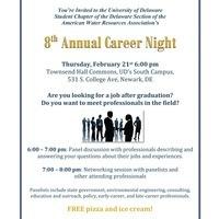 8th Annual UD AWRA Career Night