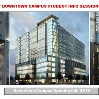 Downtown Campus Info Sessions