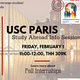 USC Paris Info Session - Study in France