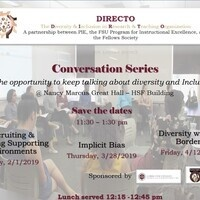 DIRECTO Spring Conversation Series: Recruitment & Creating Supportive Environments