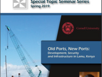 "Institute for African Development Spring Seminar Series: ""Old Ports, New Ports: Development, Security, and Infrastructure in Lamu, Kenya"""