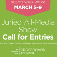 Call for Entries - March Juried All-Media Show