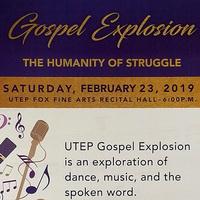 UTEP Gospel Explosion: The Humanity of Struggle