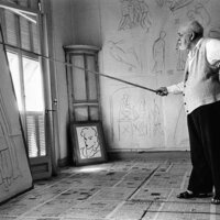 What's with the Bamboo Stick?Matisse's Drawing Practice and his Stations of the Cross at Vence