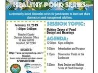 Healthy Ponds Workshop Series: Making Sense of Pond Design and Drawings