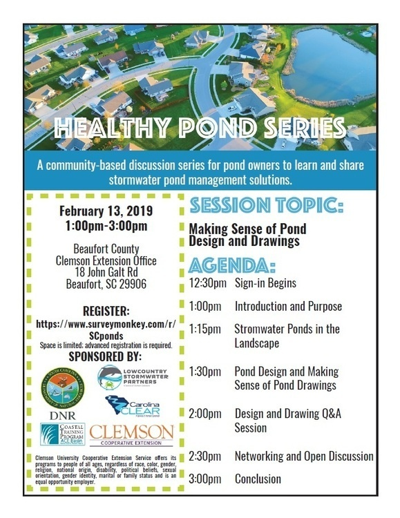 Healthy Ponds Workshop Series: Making Sense of Pond Design and Drawings