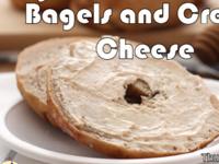 Study Break: Bagels and Cream Cheese