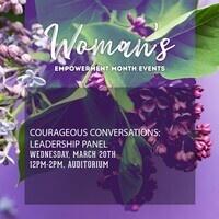Courageous Conversations: Leadership Panel